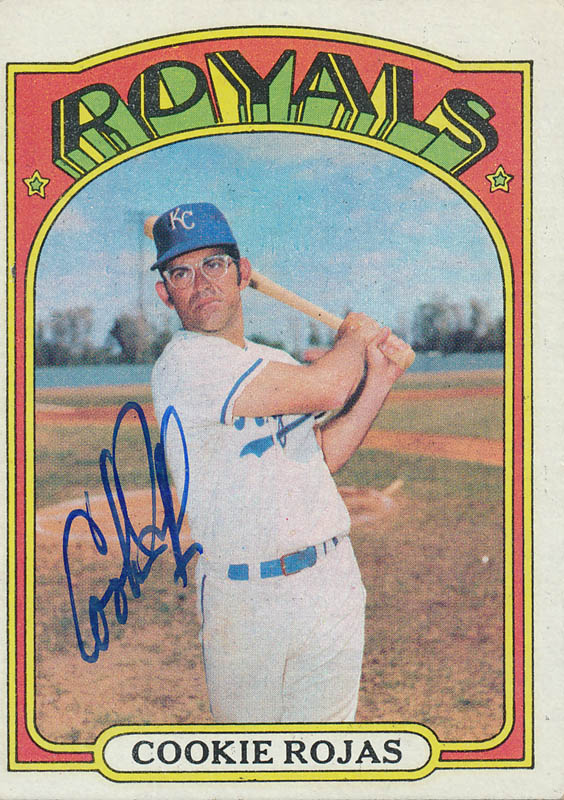 Cookie Rojas Tradingsports Card Signed Historyforsale