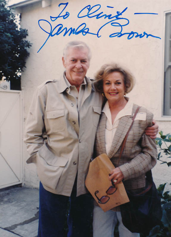 Image 1 for James L. 'Rip' Brown - Autographed Inscribed Photograph - HFSID 326631