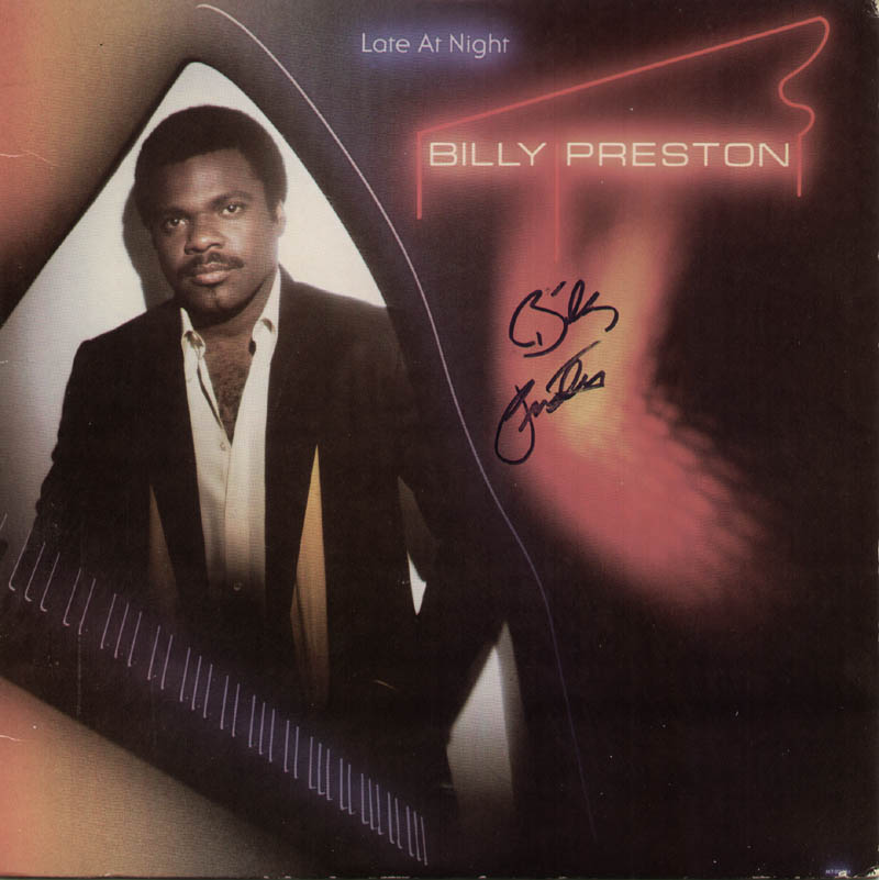 Image 1 for Billy Preston - Record Album Cover Signed - HFSID 326866