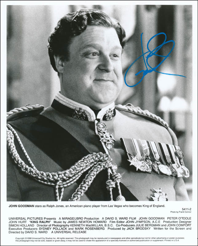 Image 1 for John Goodman - Printed Photograph Signed In Ink - HFSID 326884