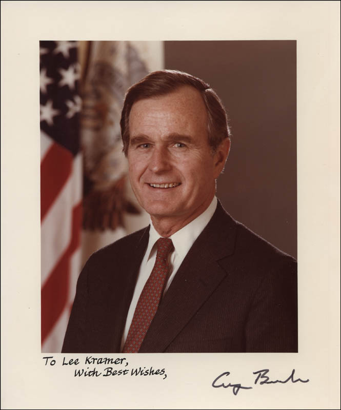 Image 1 for President George H.W. Bush - Autographed Signed Photograph - HFSID 327079