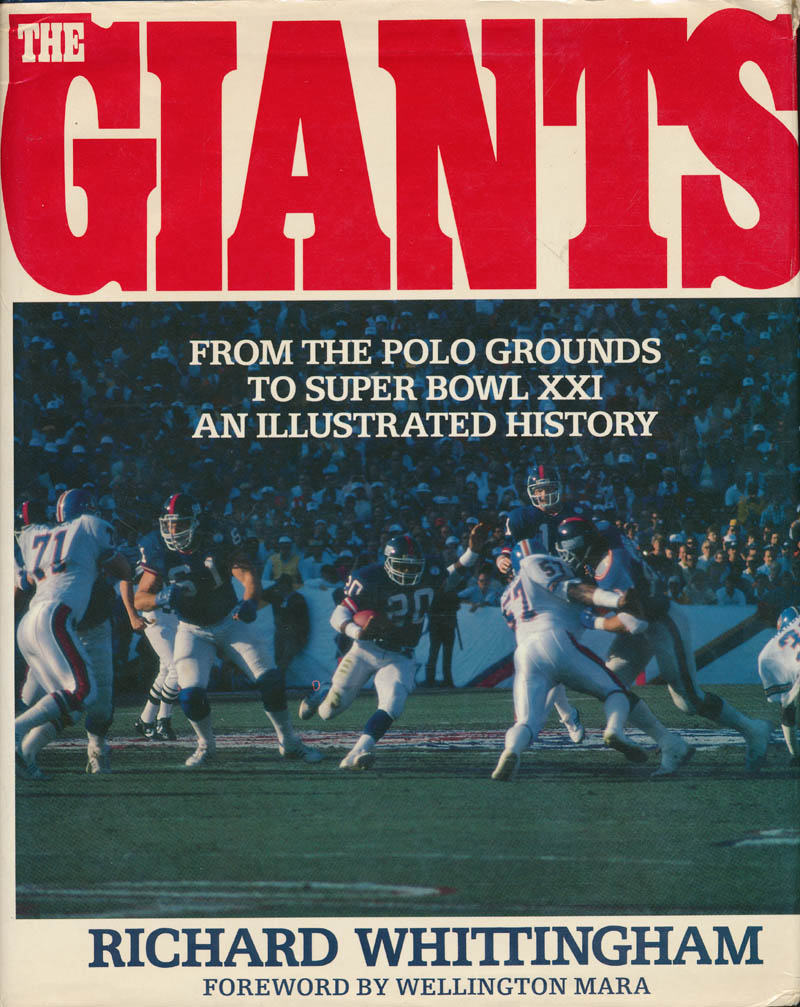 Image 3 for The New York Giants - Book Signed with co-signers - HFSID 327094