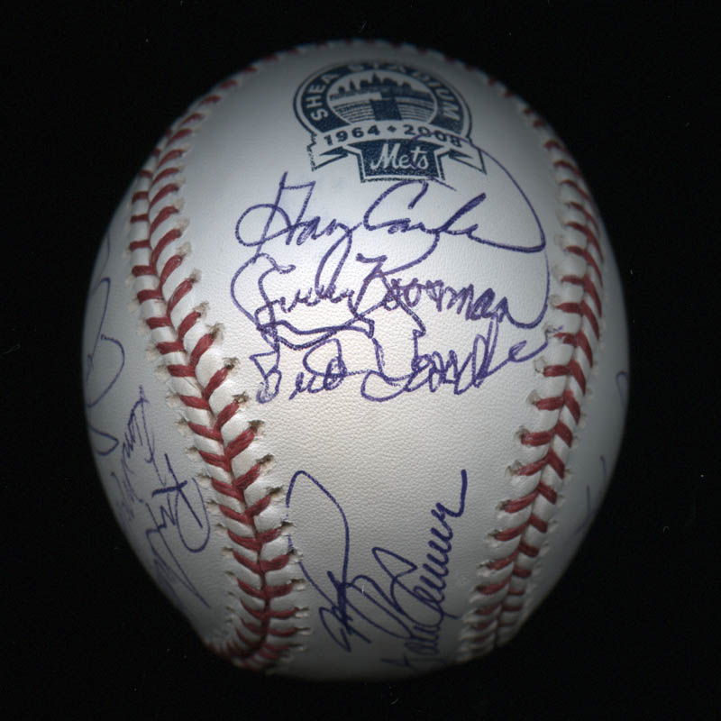 Image 3 for The New York Mets - Autographed Signed Baseball with co-signers - HFSID 327154