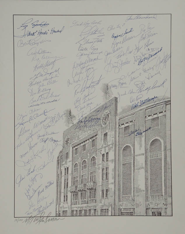 Image 1 for The New York Yankees - Lithograph Signed with co-signers - HFSID 327167