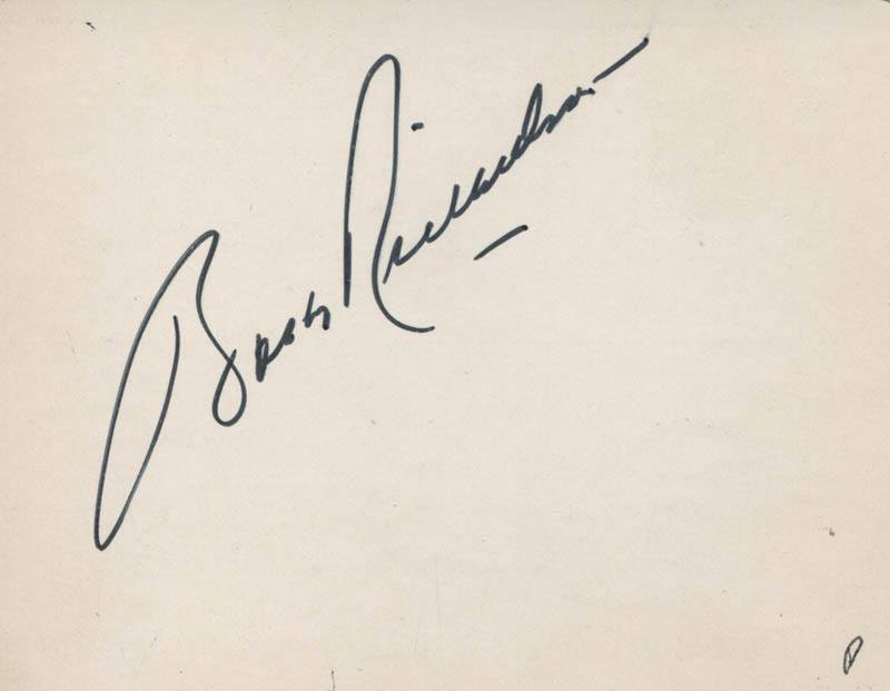 Image 1 for Bobby Richardson - Autograph - HFSID 327310