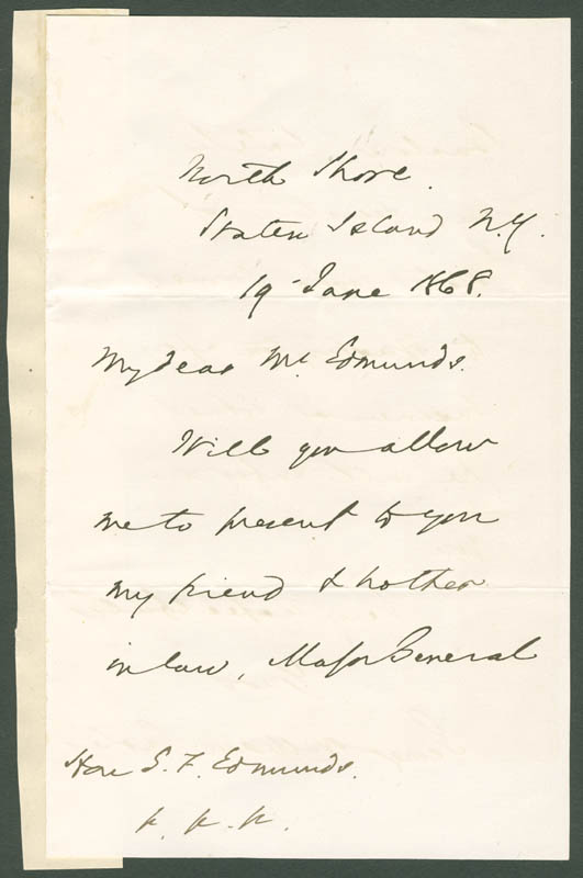 Image 3 for George William Curtis - Autograph Letter Signed 06/19/1868 - HFSID 33714
