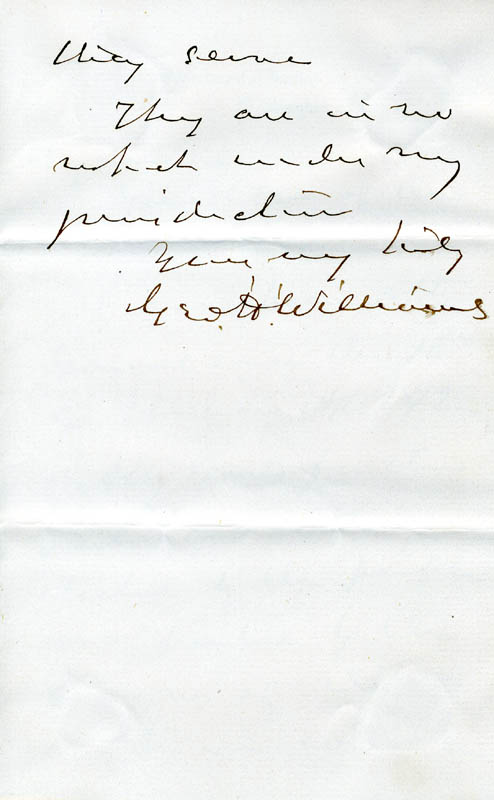 Image 1 for George H. Williams - Autograph Letter Signed 05/13/1873 - HFSID 33774