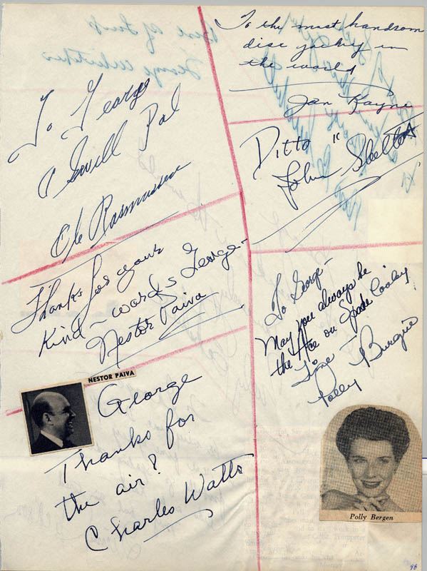 Image 3 for Billy Eckstine - Autograph Note Signed with co-signers - HFSID 34055