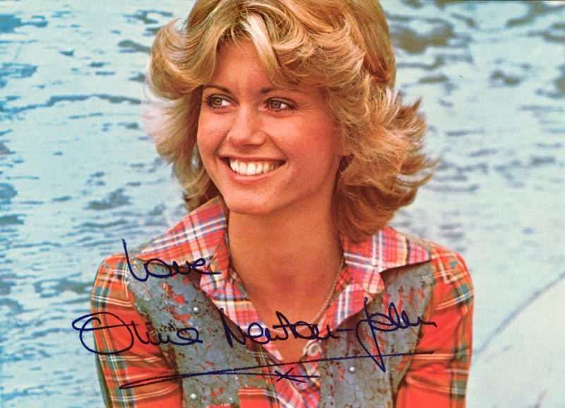 Image 1 for Olivia Newton-john - Autographed Inscribed Photograph - HFSID 34061