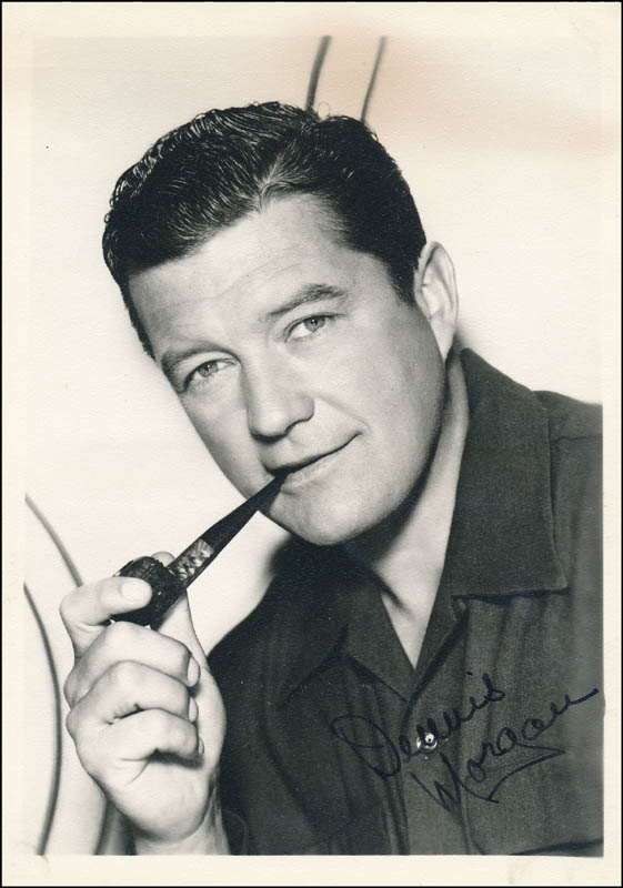 Image 1 for Dennis Morgan - Autographed Signed Photograph - HFSID 341279