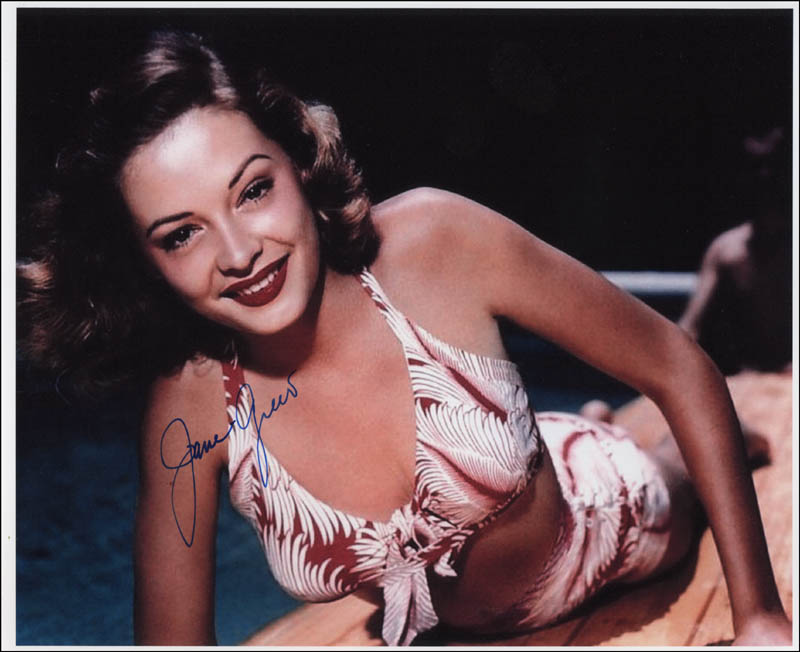 Image 1 for Jane Greer - Autographed Signed Photograph - HFSID 341284
