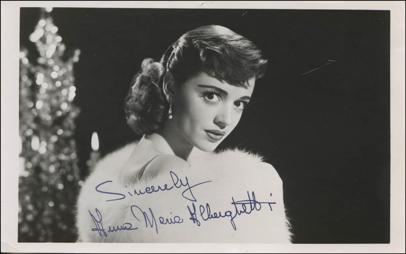 Image 1 for Anna Maria Alberghetti - Autographed Signed Photograph - HFSID 341301