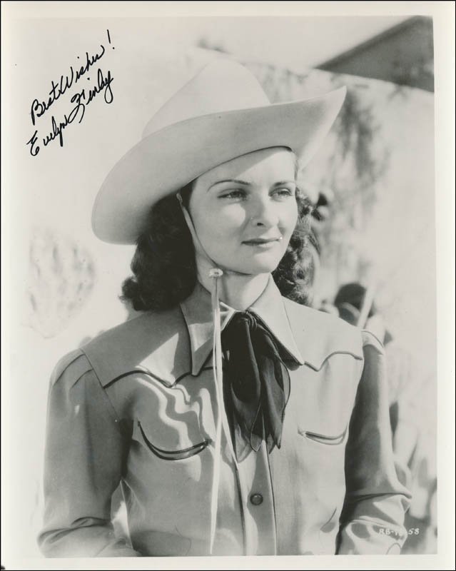 Evelyn Finley - Autographed Signed Photograph | HistoryForSale ...