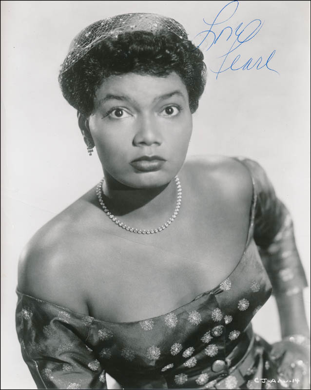 Image 1 for Pearl Bailey - Autographed Signed Photograph - HFSID 341335