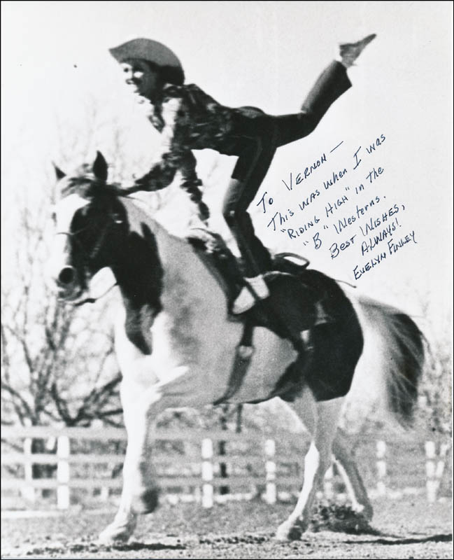 Evelyn Finley - Autographed Inscribed Photograph | HistoryForSale ...
