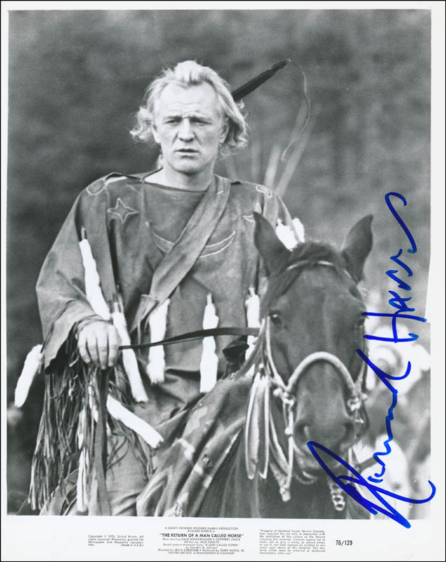 Image 1 for Richard Harris - Printed Photograph Signed In Ink - HFSID 341517