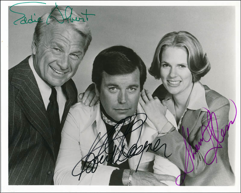 Image 1 for Switch TV Cast - Autographed Signed Photograph co-signed by: Eddie Albert, Robert J. Wagner, Sharon Gless - HFSID 341533