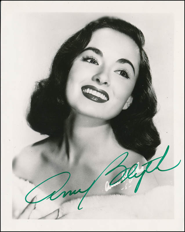 Image 1 for Ann Blyth - Autographed Signed Photograph - HFSID 341561