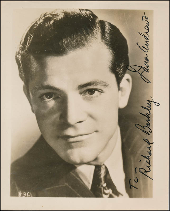 Image 1 for Dana Andrews - Autographed Inscribed Photograph - HFSID 341598