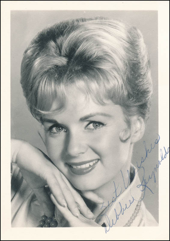 Image 1 for Debbie Reynolds - Autographed Signed Photograph - HFSID 341602