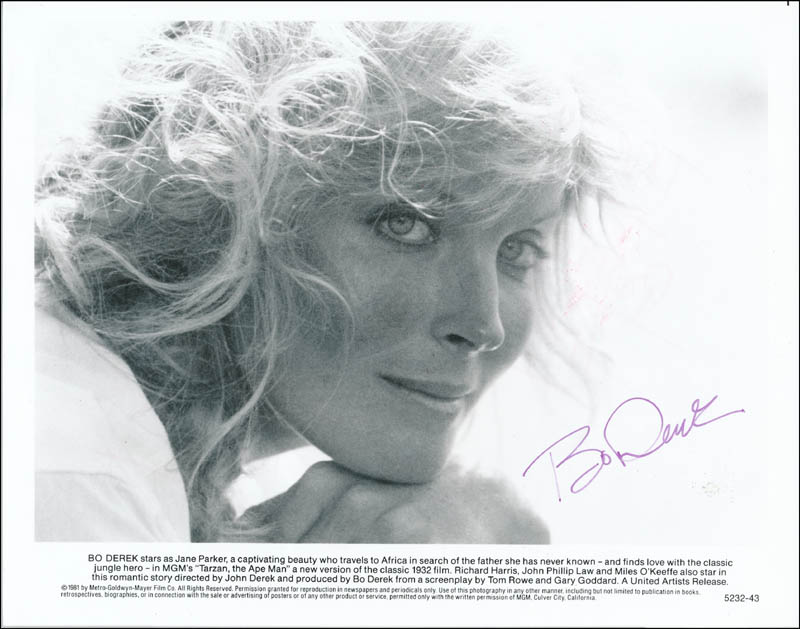 Image 1 for Bo Derek - Printed Photograph Signed In Ink - HFSID 341676