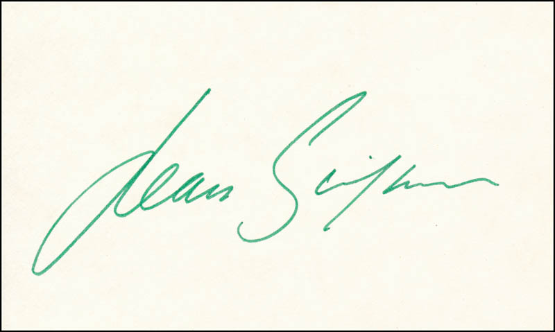 Image 1 for Jean Simmons - Autograph - HFSID 341749