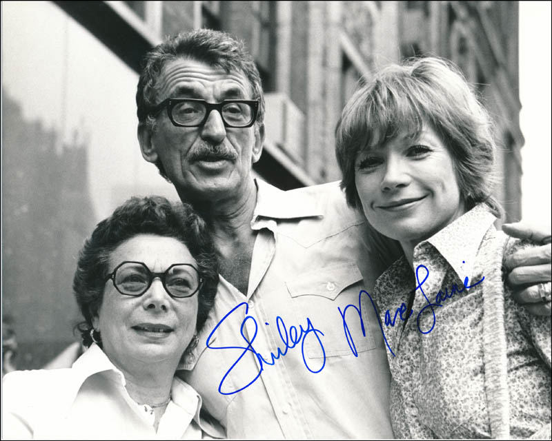 Image 1 for Shirley Maclaine - Autographed Signed Photograph - HFSID 341794