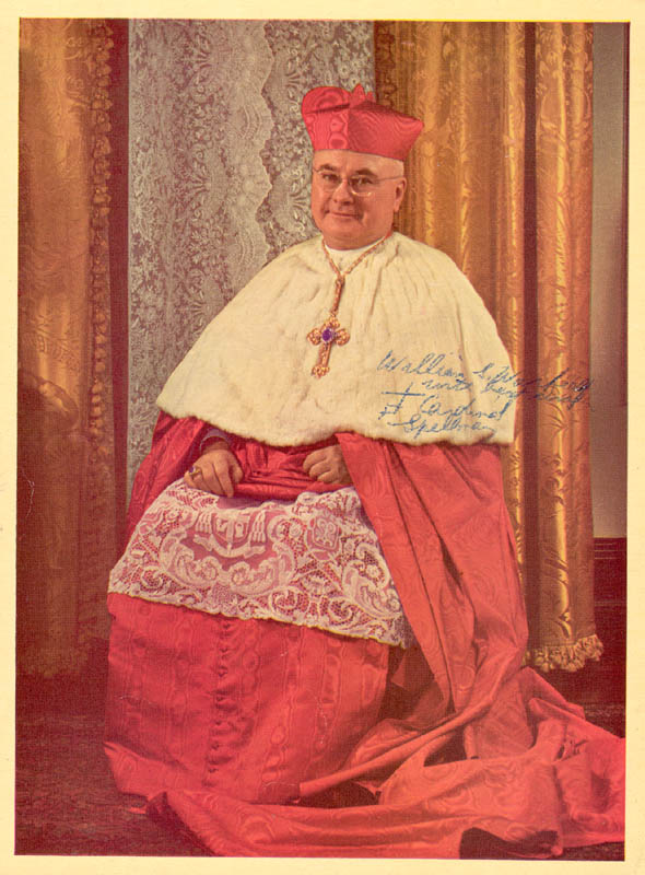 Image 1 for Francis Cardinal Spellman - Autographed Inscribed Photograph - HFSID 34191