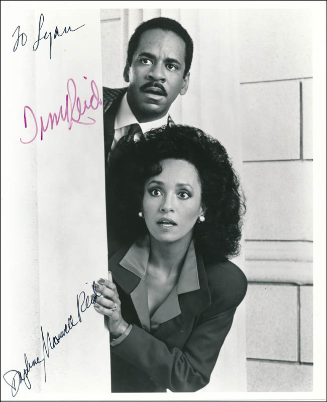 Image 1 for Snoops TV Cast - Autographed Inscribed Photograph co-signed by: Tim Reid, Daphne Maxwell Reid - HFSID 342044