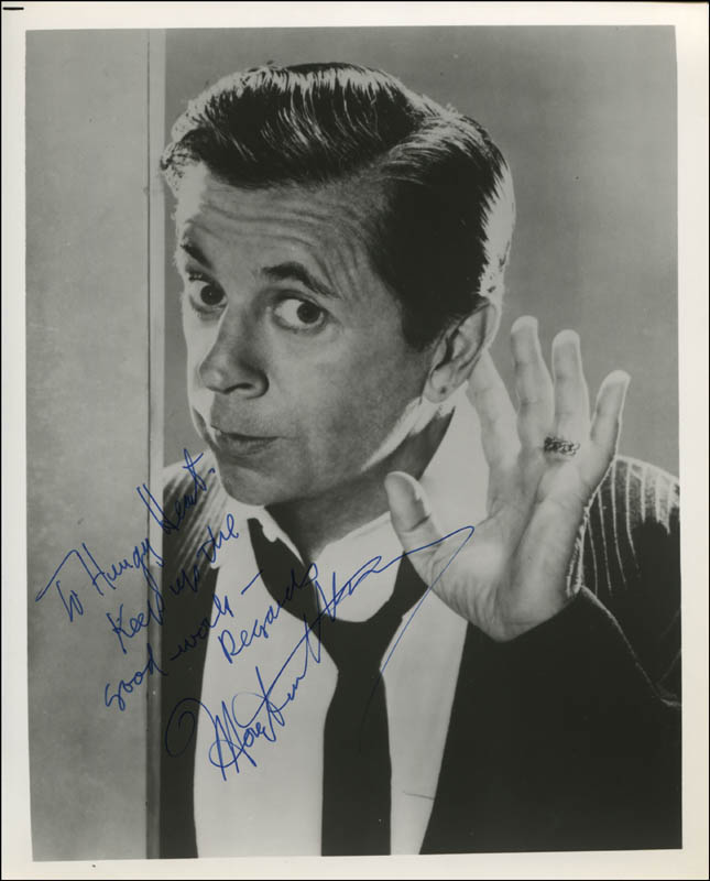 Image 1 for Morey Amsterdam - Autographed Inscribed Photograph - HFSID 342072