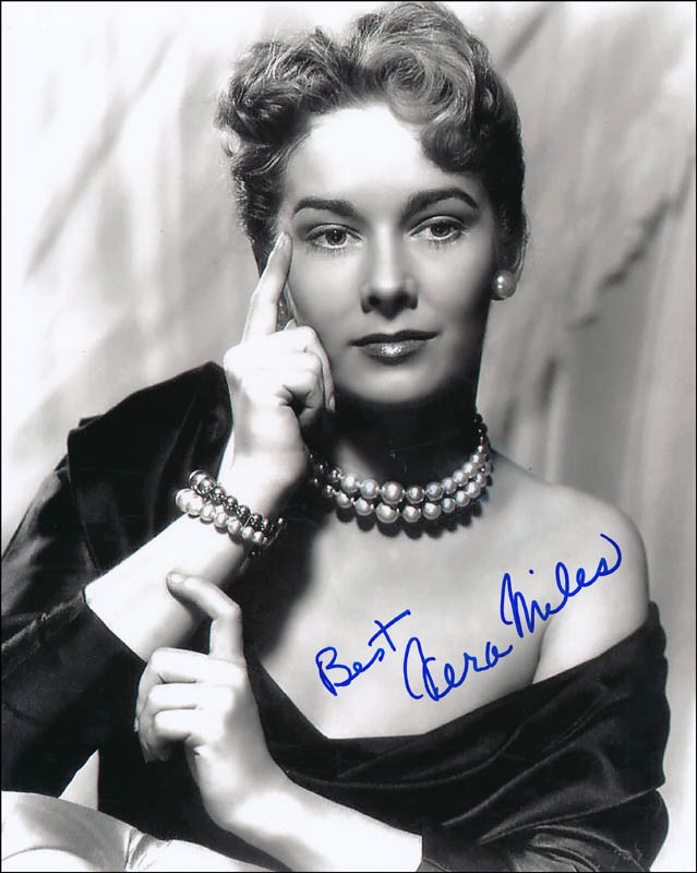 Image 1 for Vera Miles - Autographed Signed Photograph - HFSID 342119