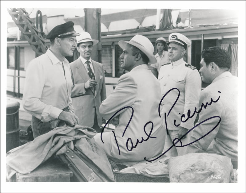 Image 1 for Paul Picerni - Autographed Signed Photograph - HFSID 342234