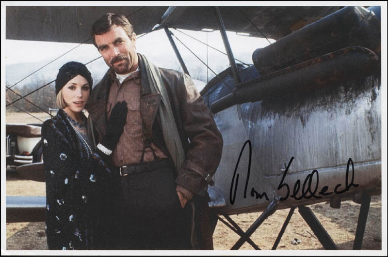 Image 1 for Tom Selleck - Autographed Signed Photograph - HFSID 342287