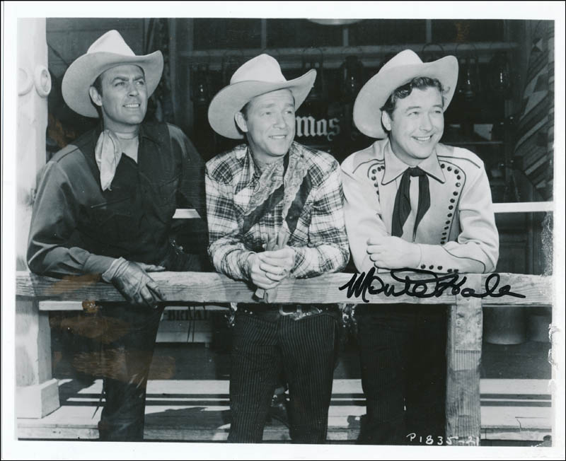 Image 1 for Monte Hale - Autographed Signed Photograph - HFSID 342329