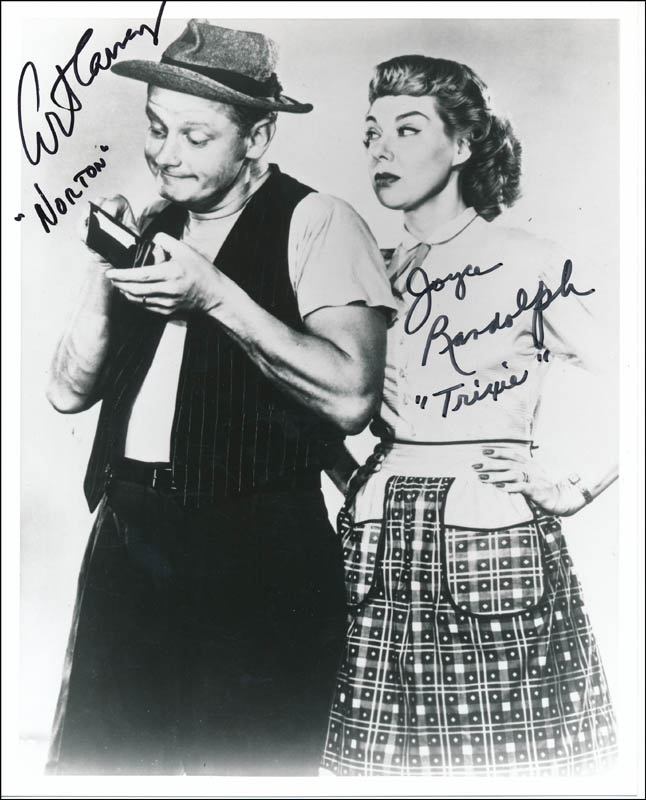 Image 1 for The Honeymooners TV Cast - Autographed Signed Photograph co-signed by: Joyce Randolph, Art Carney - HFSID 342350