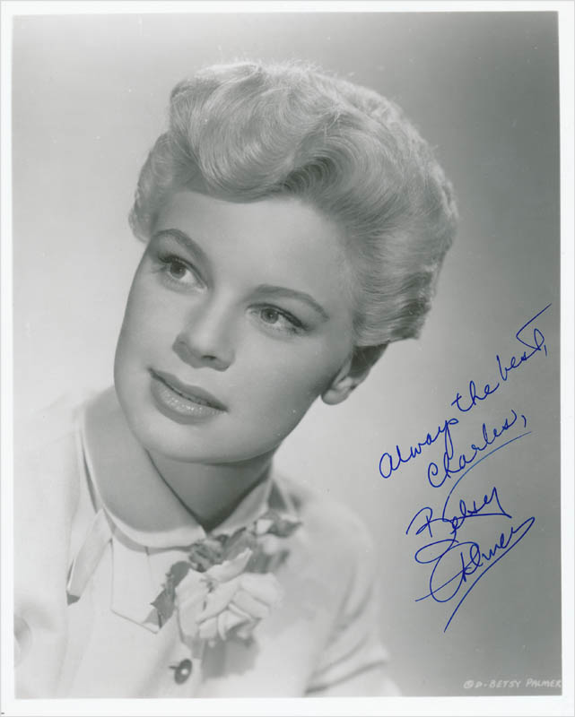 Image 1 for Betsy Palmer - Autographed Inscribed Photograph - HFSID 342687