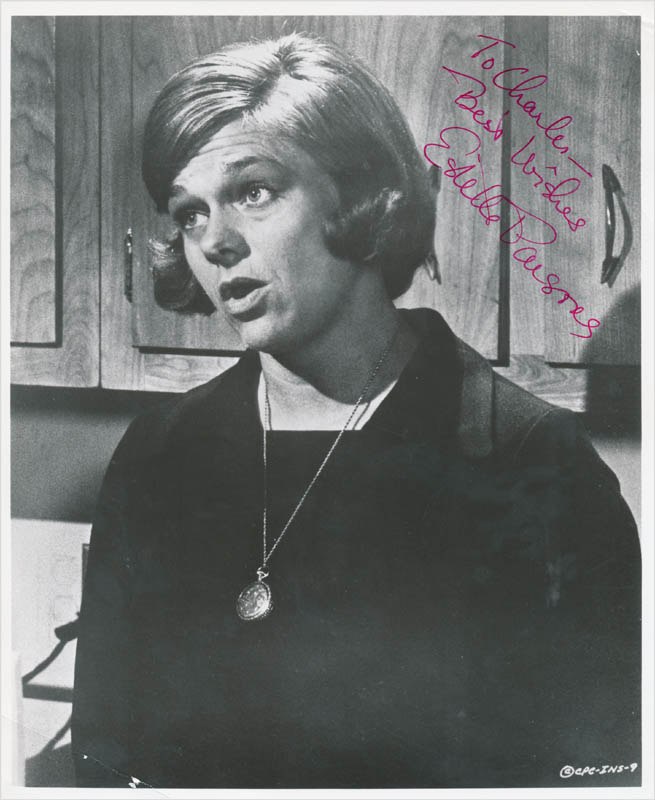 Image 1 for Estelle Parsons - Autographed Inscribed Photograph - HFSID 342695