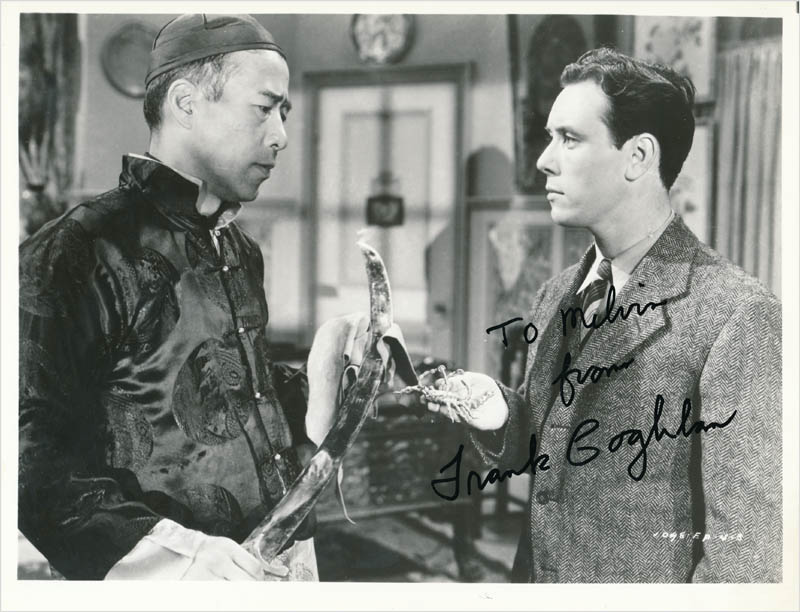 Image 1 for Frank Coghlan Jr. - Autographed Inscribed Photograph - HFSID 342700