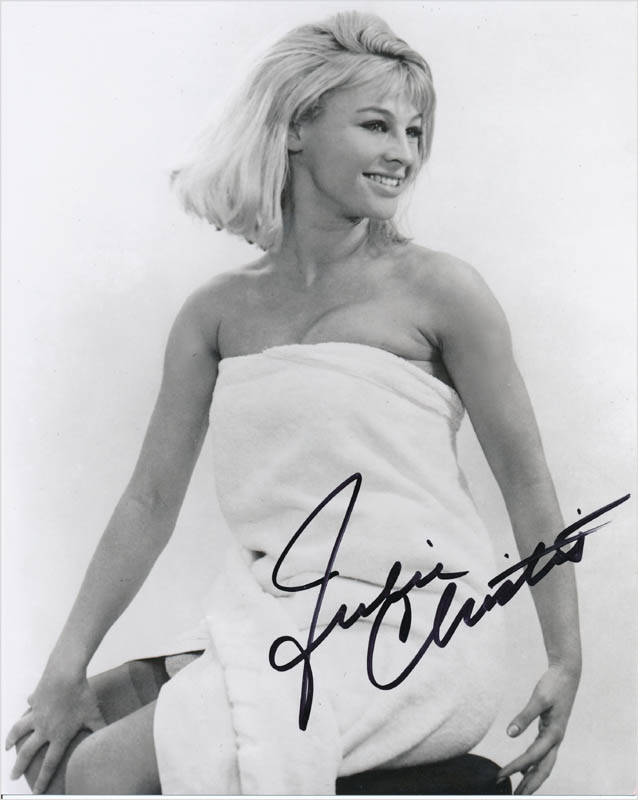 Image 1 for Julie Christie - Autographed Signed Photograph - HFSID 342747