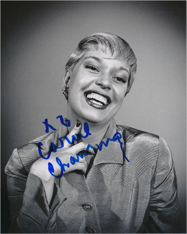 Image 1 for Carol Channing - Autographed Inscribed Photograph - HFSID 342757