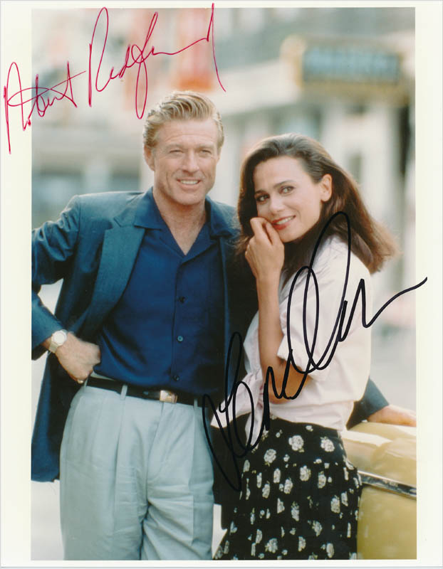 Image 1 for Havana Movie Cast - Autographed Signed Photograph co-signed by: Robert Redford, Lena Olin - HFSID 342797