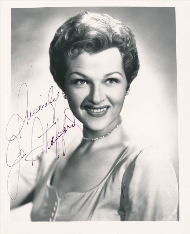 Image 1 for Jo Stafford - Autographed Signed Photograph - HFSID 342801