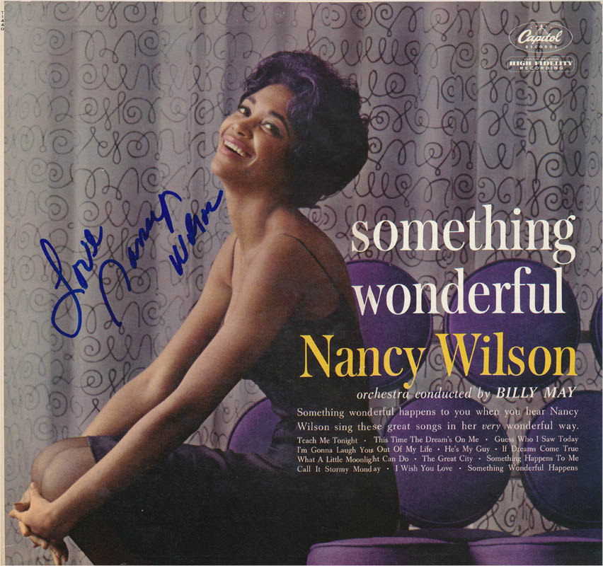 Image 1 for Nancy Wilson - Record Album Cover Signed - HFSID 342825