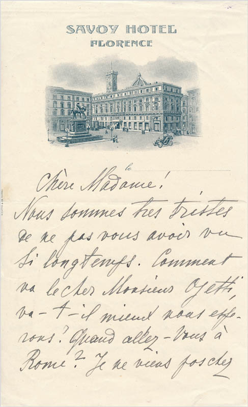 Image 3 for Maria Andreyeva - Autograph Letter Signed 11/15 - HFSID 342847