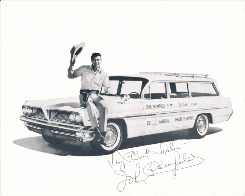 Image 1 for John Bromfield - Autographed Signed Photograph - HFSID 342857