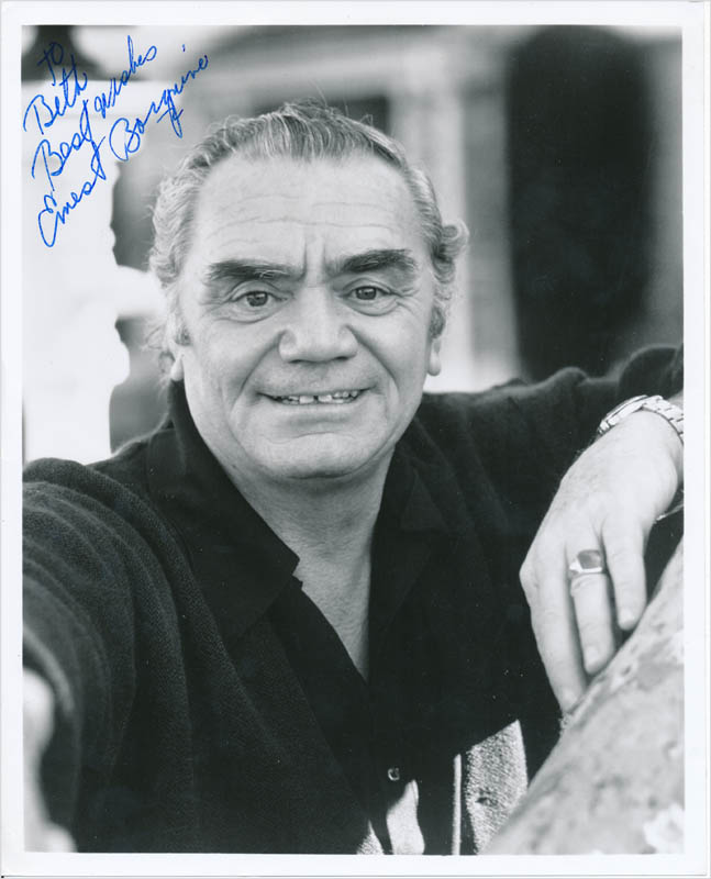 Image 1 for Ernest Borgnine - Autographed Inscribed Photograph - HFSID 342865