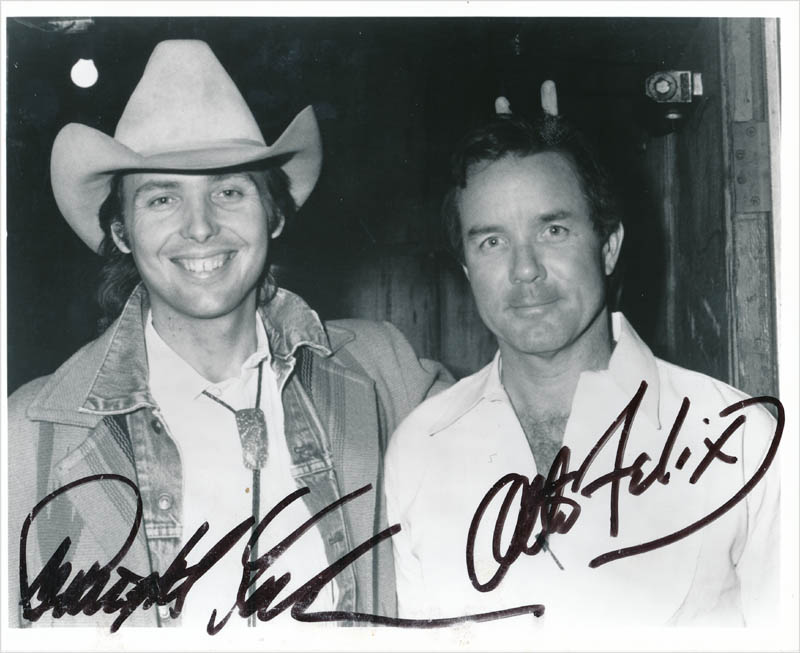 Image 1 for Dwight Yoakam - Autographed Signed Photograph co-signed by: Otto Felix - HFSID 342869