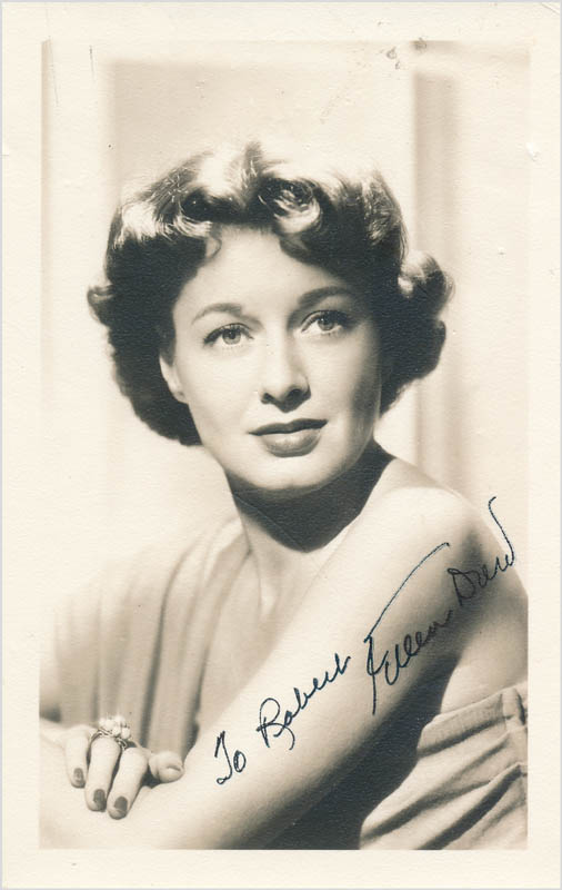 Image 1 for Ellen Drew - Autographed Inscribed Photograph - HFSID 342892