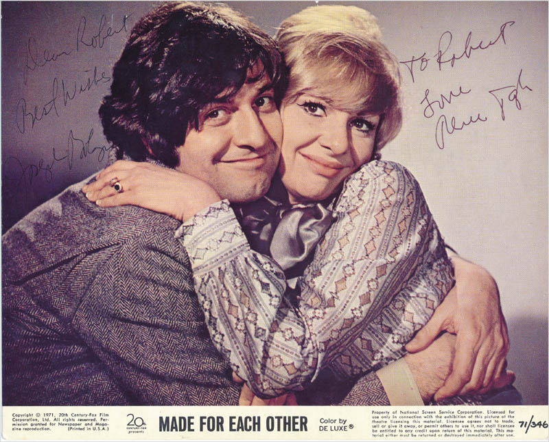 Image 1 for Made For Each Other Movie Cast - Inscribed Printed Photograph Signed In Ink co-signed by: Renee Taylor, Joseph Bologna - HFSID 342895