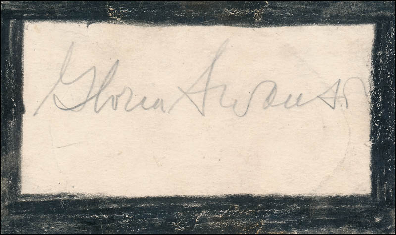 Image 3 for Douglas Fairbanks Jr. - Autograph co-signed by: Gloria Swanson - HFSID 342997